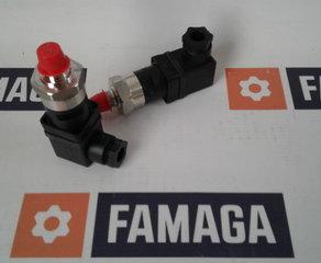 "Druckregler PS41-30-4MNS-C-HC-G-FS60psiF 30: 1,7-6,9 bar (25-100 psi) 4MNS: 1/4"" NPTM, Edelstahl C: SPDT Wechsler HC: DIN 43650A 9mm Cable Clamp G: Gold Contacts (loads less than 12 mA @ 12 VDC) FS60psiF: Factory-Set: 60 psi falling pressure Gems Sensors & Controls"