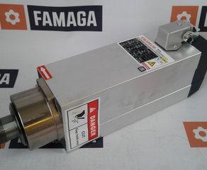 Asynchronmotor 3,5kW -Luftgekühlt -Motorleistung: 3,5 KW -Drehzahl max.: 18.000 U / min -3Ph 380V Excitech